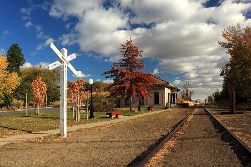 Susanville Train Depot by James Q. Eddy Jr.